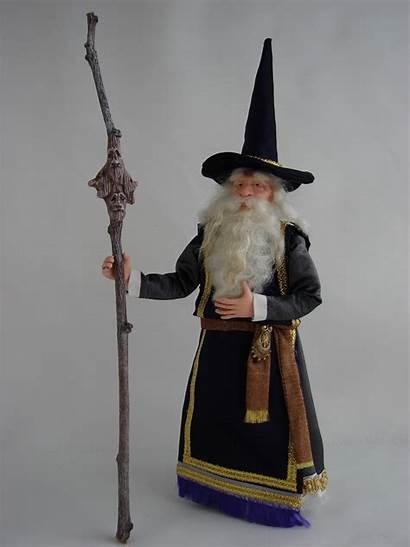 Wizard Miniature Doll Dolls Dollhouse Wizards Costume