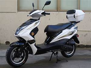 50cc Super 50 Gas Moped Scooter With Big Body  Automatic