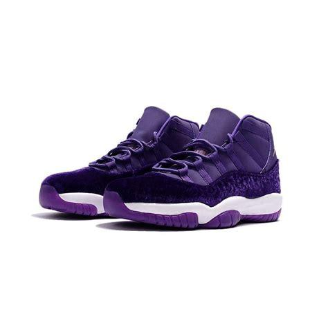 mens air jordan  purple velvet basketball shoes