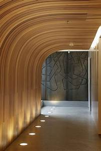 Wood Ceiling Curved Up Lighting COMMERCIAL INTERIORS