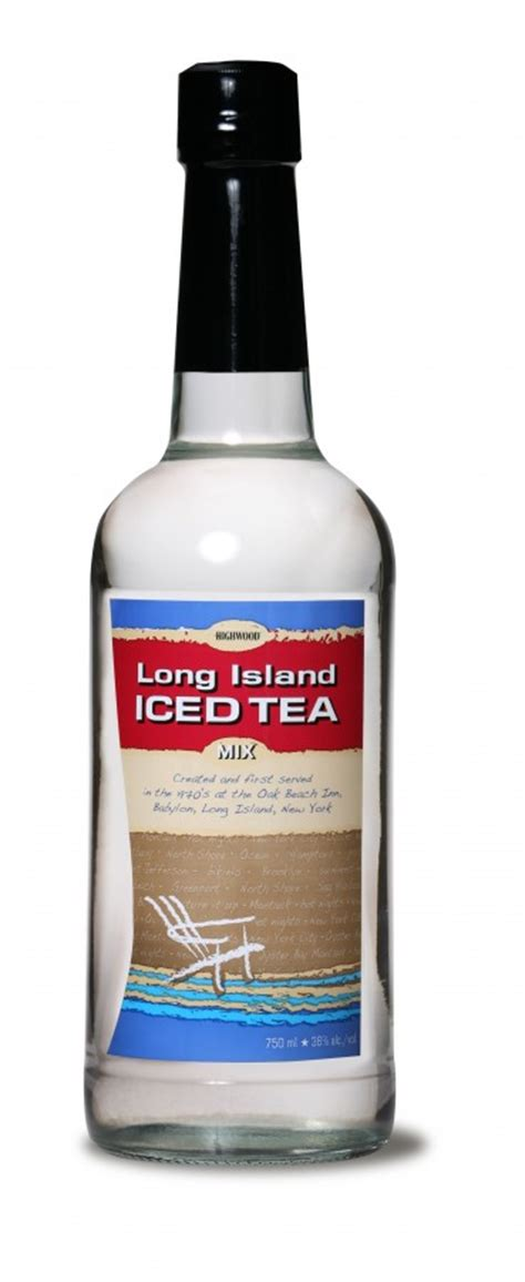 island iced tea mix highwood distillers premixes