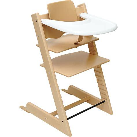 tablette pour chaise haute stokke test stokke tripp trapp avec babyset et tablette
