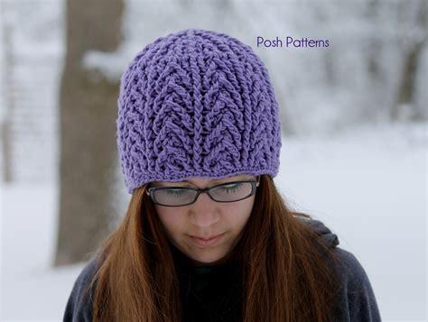 crochet beanie cable hat crochet pattern crochet cable beanie