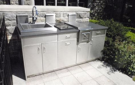 outdoor kitchen stainless steel cabinet doors stainless steel outdoor kitchens steelkitchen 9024