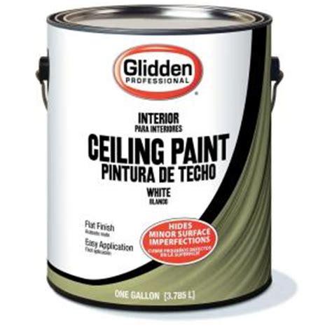 glidden professional 1 gal flat ceiling paint gpl 0000 01