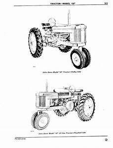 John Deere 50 Parts Catalog And Manual List