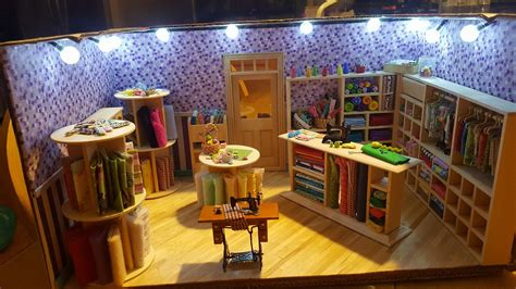 sewing embroidering dollhouse miniature madness