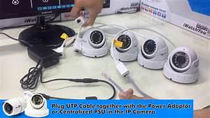 How To Install Cctv Ip Camera Using Network Switch Hub