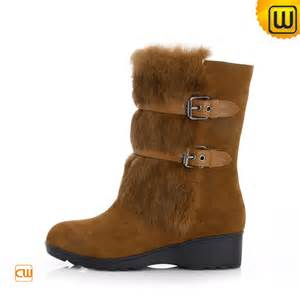 women brown winter snow boots cw332101