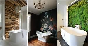 Impressive bathroom accent walls that will the show for Gnn bathroom fans