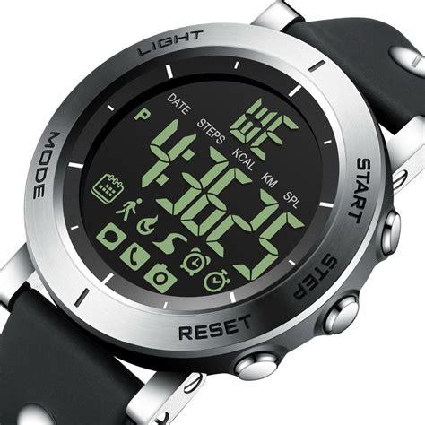 gimto bluetooth sport smart  men shock stopwatch waterproof military digital boy electronic