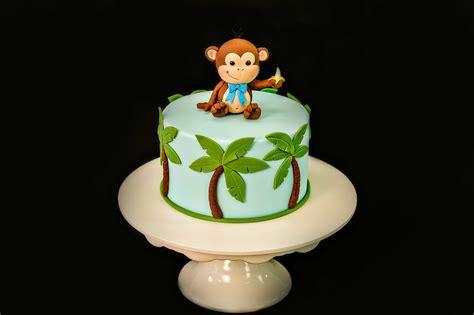 cheeky monkey cake topper