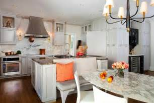 kitchen layouts with islands kitchen islands as banquettes