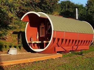 Fass Als Gartenhaus : garten sauna fass premium deluxe sams gartenhaus shop ~ Markanthonyermac.com Haus und Dekorationen