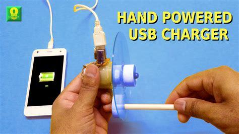 hand powered usb charger adafruit