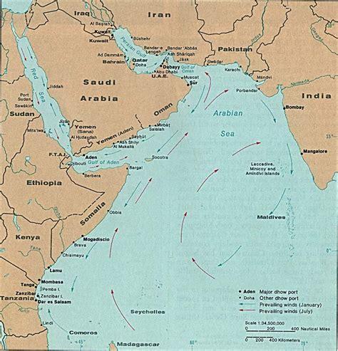 indian ocean maps