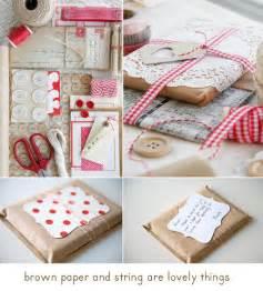 brown paper christmas craft gift wrap gifts image 87911 on favim com