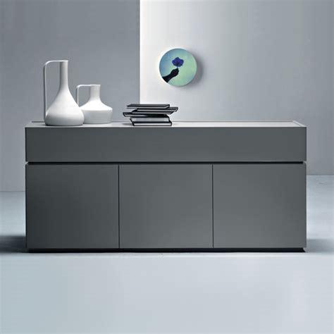 Modern Sideboards Uk by Como Modern Grey Sideboard L180 X H81cm