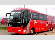 Bayern Munich team bus involved in car crash ahead of