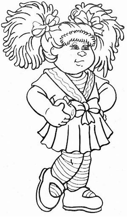 Cabbage Patch Coloring Pages Dolls Printable Sheets