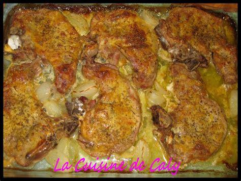 cuisiner cotes de porc côtes de porc à la moutarde la cuisine de caly