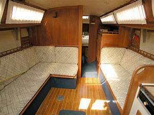 The gallery for gt sailboat interior design ideas for Interior decorating ideas for boats