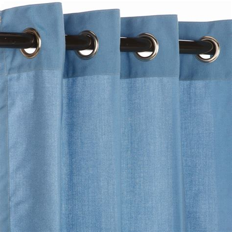 spectrum sailor grommet sunbrella outdoor curtains
