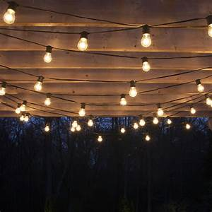 how to hang patio lights With outdoor string lights hangers