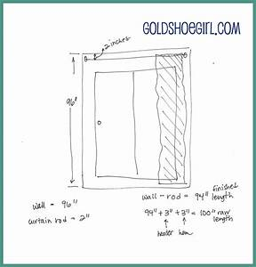Gold Shoe Girl  New Kitchen Curtains And Tutorial