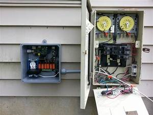 Need Help Hooking Up Pool Pump To Relay Switch And
