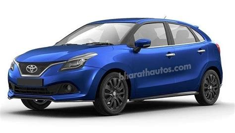 toyota badged maruti baleno arrive  march