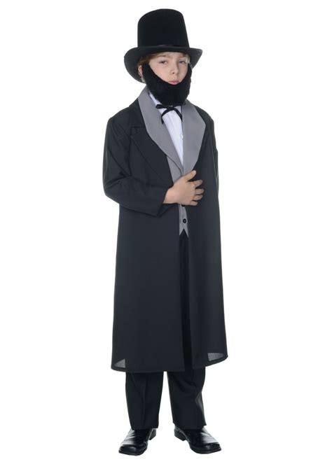 Boys Abraham Lincoln Costume Historical Costumes