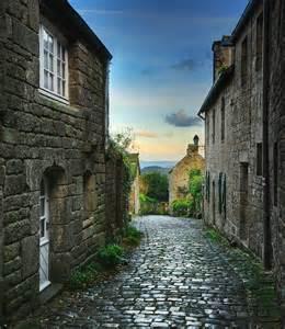 France Cobblestone Streets