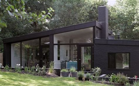 black brick house black brick house in the woods outside london by takero shimazaki and charlie luxton mid