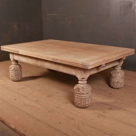 Great savings & free delivery / collection on many items. English Bleached Oak Coffee Table in Tables & Desks