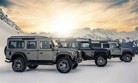 ares design recreates v8 land rover defender performancedrive