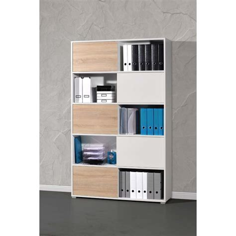 meuble bureau rangement meuble rangement bureau design bureau blanc laqué