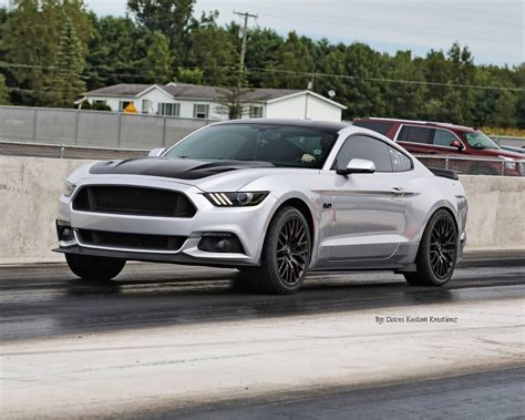 2016 Ford Mustang Gt 1/4 Mile Trap Speeds 0-60