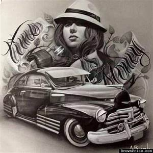 Lowrider Bomb Chicano Mexican Style Art | Lowrider ArT ...