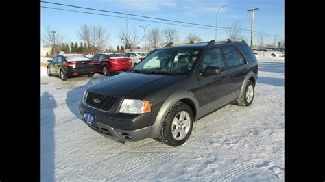all car manuals free 2007 ford freestyle free book repair manuals 2007 ford freestyle sel fwd start up walkaround and vehicle tour youtube