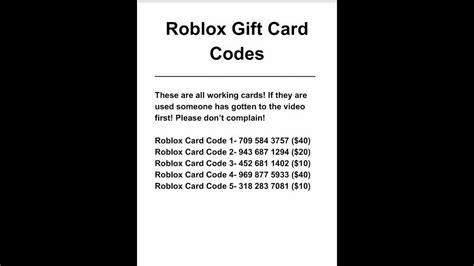 roblox gift card codes check  balance