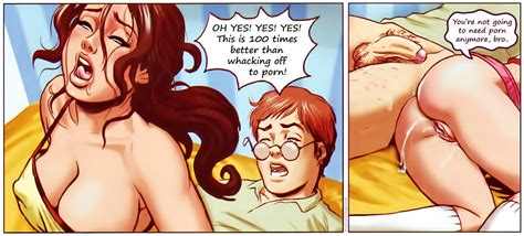 Sister Catches Brother • Porn Comics One