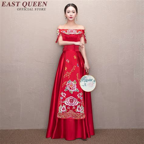 chinese wedding dress bridesmaid dress wedding