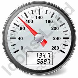 Speedometer Icon, PNG/ICO Icons, 256x256, 128x128, 64x64 ...