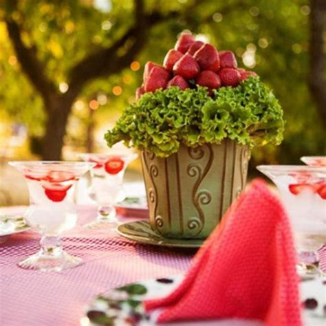ideas for strawberries strawberry abundance 45 tasty ideas for table setting in a season of strawberries and not