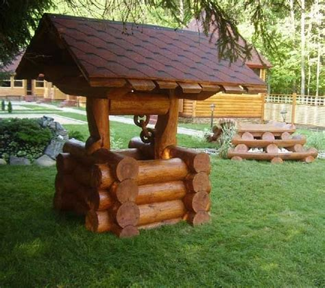 15 diy garden decoration with tree or logs that you will to the in