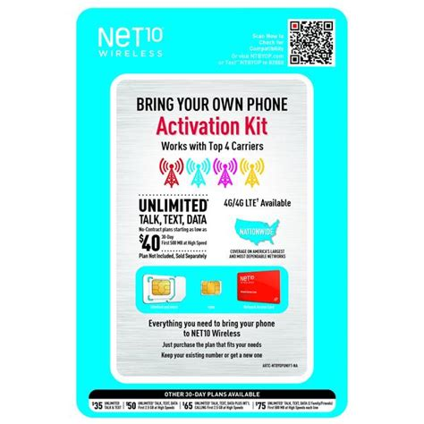 bring your own phone verizon net10 universal bring your own phone kit shopcelldeals