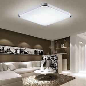 Led Deckenlampe Küche : 12w 96w panel led deckenlampe deckenleuchte flurleuchte ~ Watch28wear.com Haus und Dekorationen