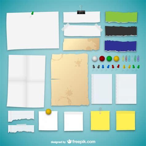 collecte de papier de bureau gratuit la collecte des textures de papier télécharger des