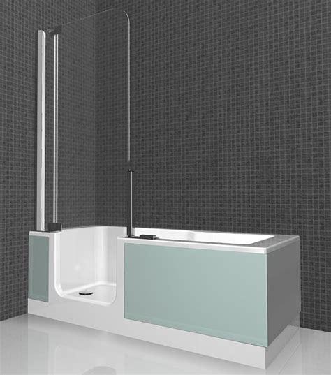 Duschbadewanne Mit Tür by Zweite Artweger Twinline Mit Dem Platzbedarf Einer